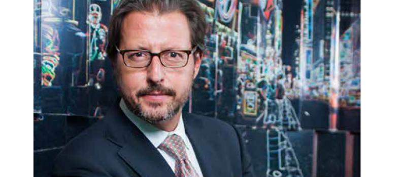 Luis Prados, portada de la revista Alcaldes de México